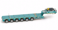 IMC Premium series Nooteboom MCO-PX 6 axle trailer in Kobelco Green